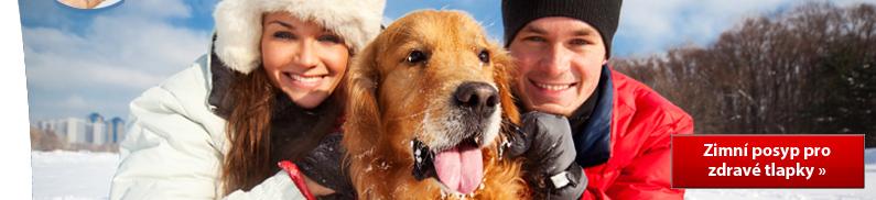 Zimní posyp pro zdravé psí tlapky